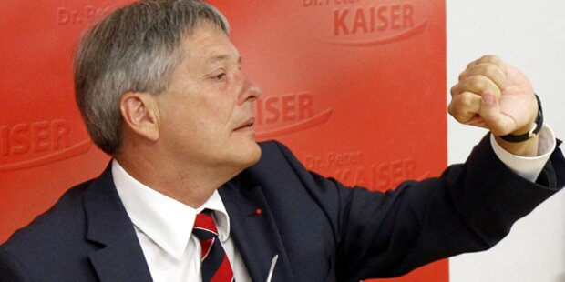 SP-Kaiser: Totalverzicht auf Wahlwerbung