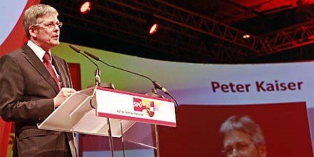 Kärntner SPÖ wählt Kaiser zum Obmann