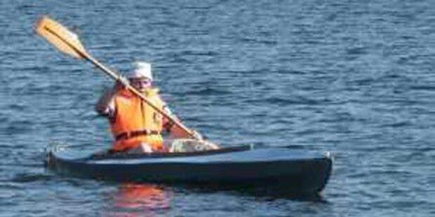 Kajakfahrer im Millstätter See ertrunken