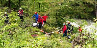 Ein Toter bei Kajak-Unfall auf der Steyr