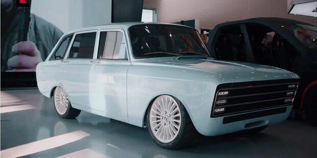 Kalaschnikow greift mit E-Auto an