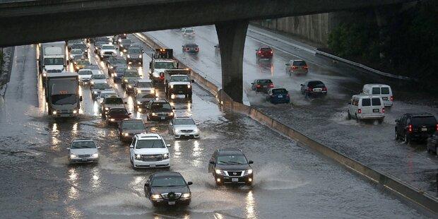 Kalifornien ist überschwemmt
