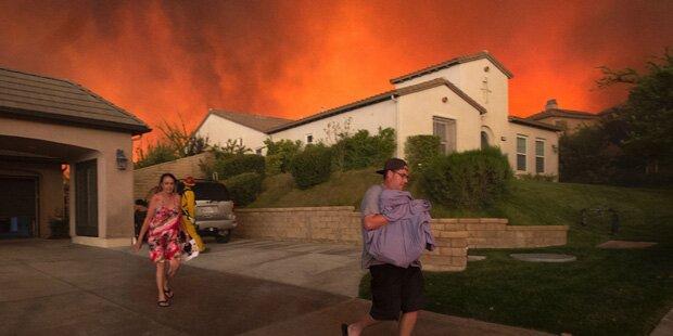 Kalifornien: Todes-Feuer außer Kontrolle