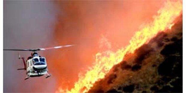 Arnie verhängt Notstand in Kalifornien