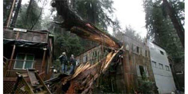 Orkan sorgt für Strom-Chaos in Kalifornien