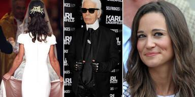 Pippa Middleton, Karl Lagerfeld