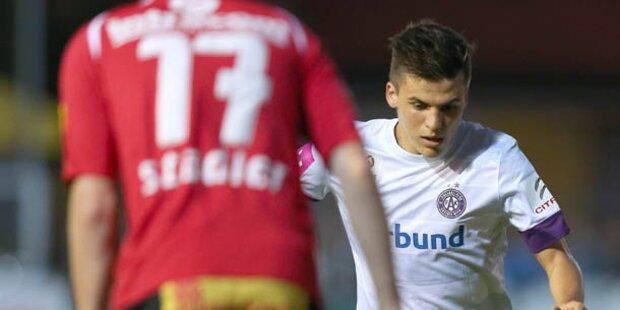 Austria scheidet im ÖFB-Cup aus