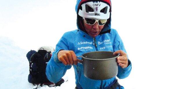 K2-Gipfelsturm erst am Dienstag