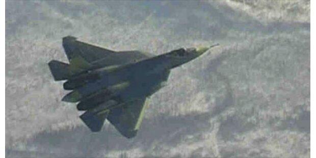 Russen testen neuen Kampfjet