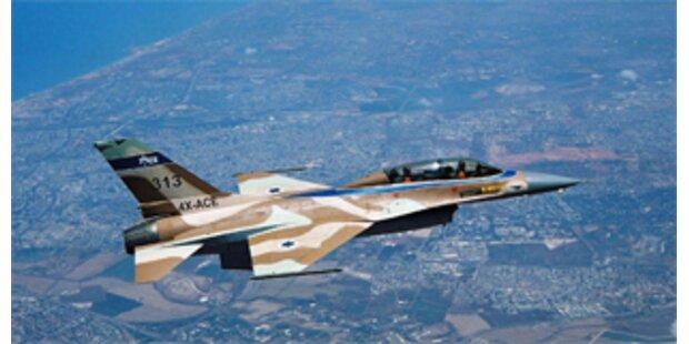 Israelische Kampfjets dringen in Syrien ein