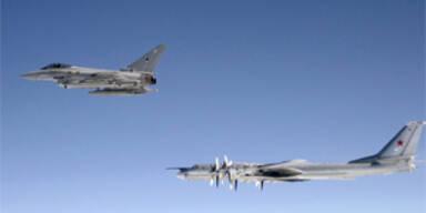 Royal Airforce drängt russische Kampfjets ab