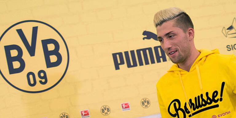 Dortmund: Kampl feiert heute sein Debüt