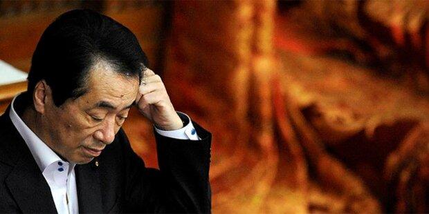 Japans Regierungschef Kan zurückgetreten