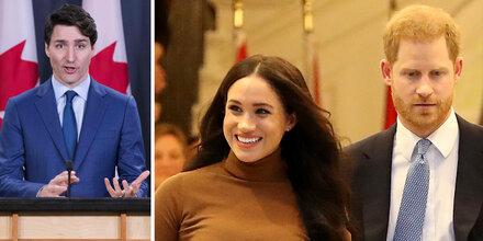 Meg & Harry ziehen nach Kanada - das sagt Premier Trudeau