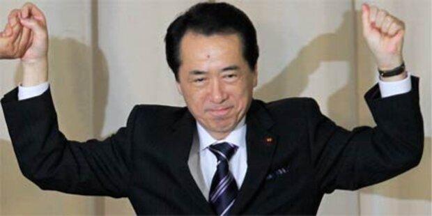 Naoto Kan ist neuer japanischer Premier