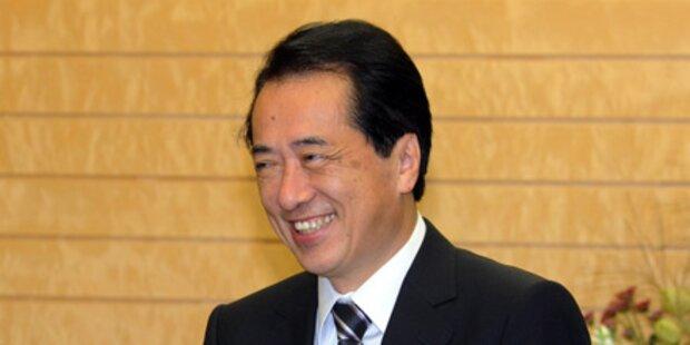 Kan bleibt Regierungschef Japans