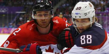 Olympia: Kanada im Eishockey-Finale