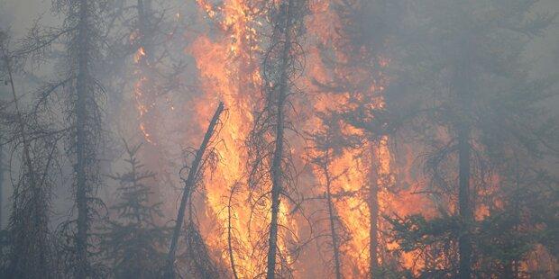 Feuer-Inferno in Kanada weiter außer Kontrolle