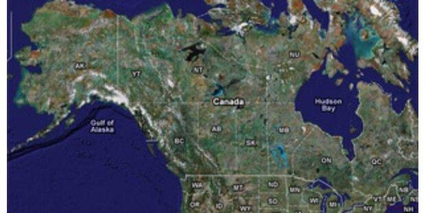 Wieder Fuß in Kanada angeschwemmt