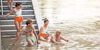 Heikel: Verein bietet Badespaß im Donaukanal