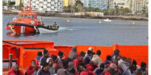 500 Flüchtlinge auf den Kanaren gestrandet