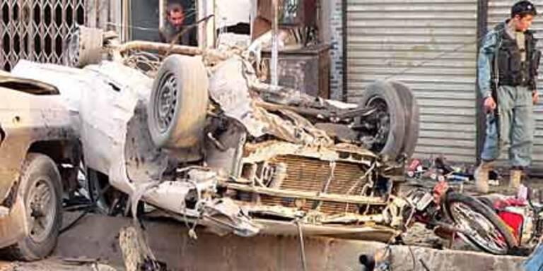 6 Tote bei Anschlag in Kandahar