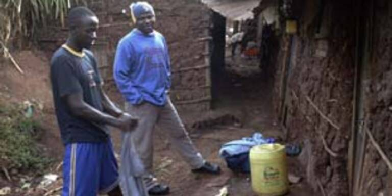 Kenianische Familie droht mit Selbstmord