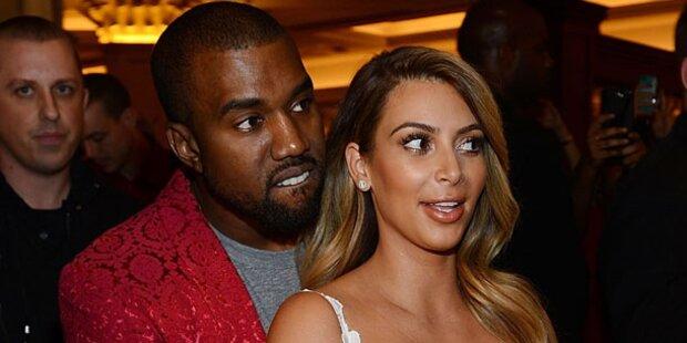 Kanye: Kampfjets zur Hochzeit mit Kim