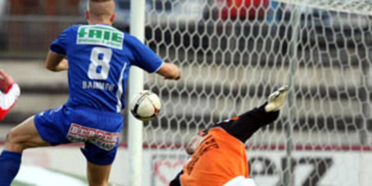 Kapfenberg gelingt 5:0 gegen Schwanenstadt