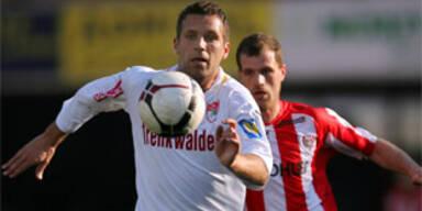 Jozef Valachovitc (Schwadorf) und Bernd Bernsteiner (Kapfenberg)