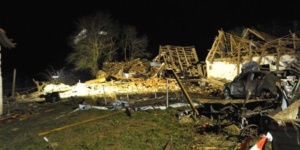 Haus flog in die Luft: Zwei Tote