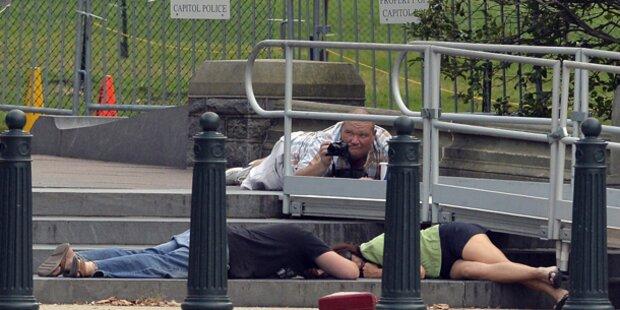Schüsse vor Kapitol in Washington