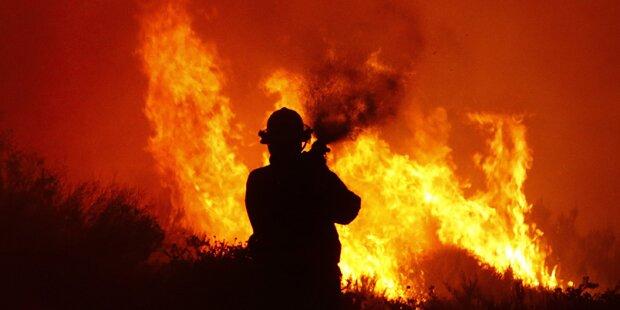 Brände bedrohen Küstenstraße in Kapstadt