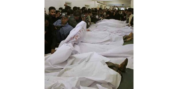 Schwere Explosion in Karachi