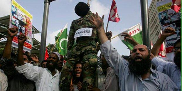 Tote bei Unruhen im Süden Pakistans