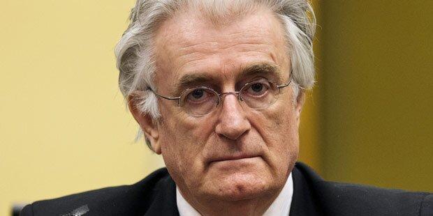Hochspannung vor Urteil gegen Karadzic