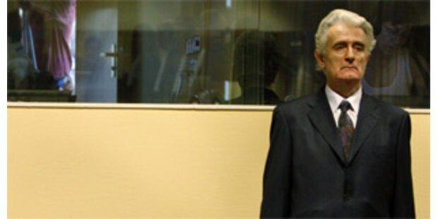 Karadzic erstmals vor dem UNO-Richter