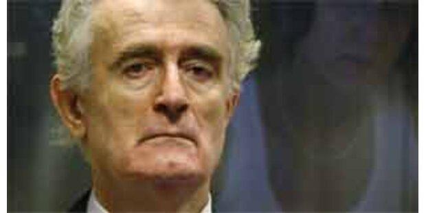 Karadzic-Verfahren könnte zwei Jahre dauern