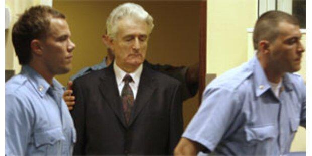 USA deckten offenbar Karadzic