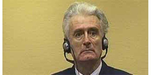 Radovan Karadzic fordert Einstellung seines Prozesses