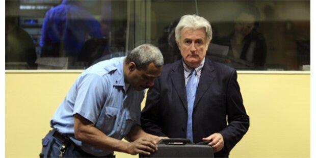 Karadzic äußert sich nicht zur Anklage des UN-Tribunals