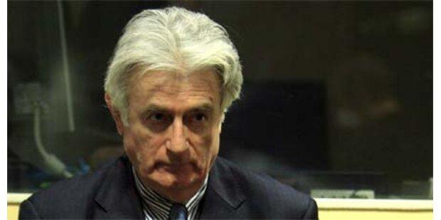 Karadzic will sich Anklage nicht anhören
