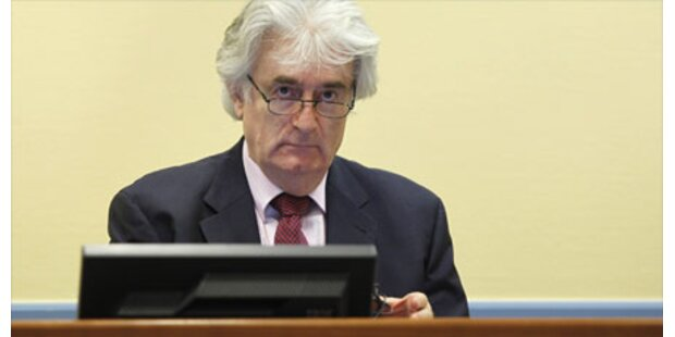 Prozess gegen Karadzic unterbrochen