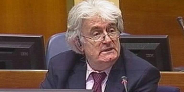 """Karadzic: """"Zeuge erfindet Massenmord"""""""
