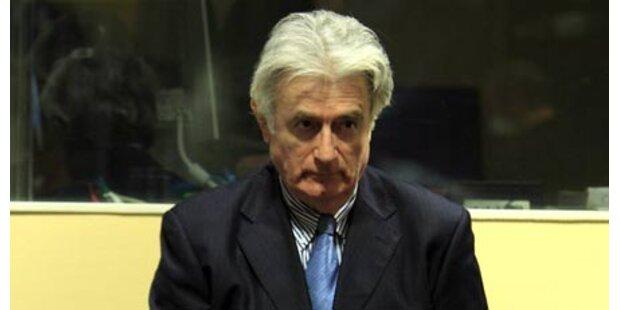 Karadzic beendet Boykott