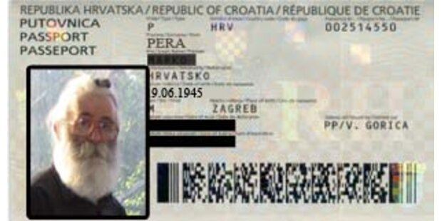 Wiener Polizei ließ Karadzic laufen