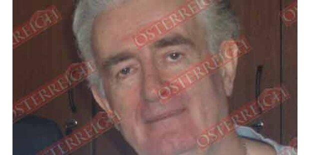 Das erste Foto von Karadzic nach seiner Verhaftung