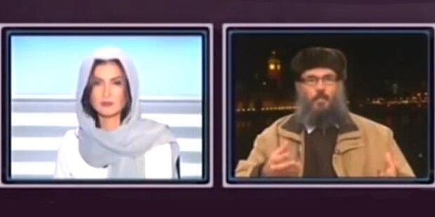 Moderatorin macht Islamisten zur Schnecke