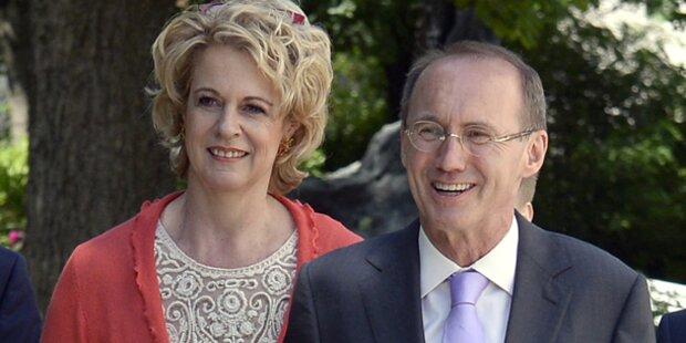 Karas: Mit Waldheim-Tochter verheiratet