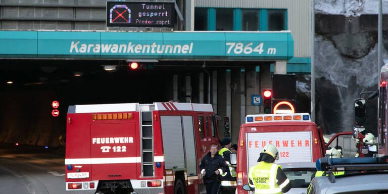 Karawankentunnel wegen Gas-Alarms gesperrt